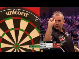 Phil Taylor vs Kevin Painter (Grand Slam of Darts 2013 / Group A)
