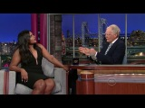 Mindy Kaling on David Letterman Show, 29.04.2013