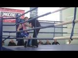 Андрей Цветков в финале по боксу в Великом Новгороде