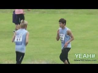 [FANCAM]110827 아이돌육상대회-동우.호야