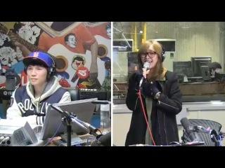 140216 Hyorin - Let It Go @SBS Power FM K.Will's Young Street