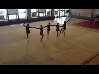 Ритмическая гимнастика 29.04.2013.