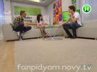 09.12.2012 - Julia Volkova at Novy.tv