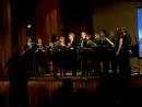 Хор на отчетном концерте музыкальной школы Виртуозы