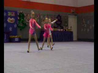 Новогодний турнир по художественной гимнастике