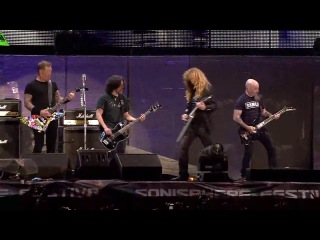 Metallica, Slayer, Megadeth, Anthrax - Am I Evil @ Live in Sofia 2010 (HD)