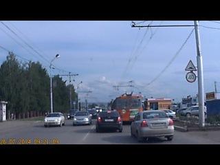 Видео регистратор на Форд транзит. автобус