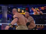 The Rock vs John Cena WrestleMania 29