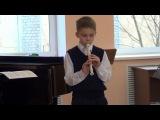 Экзамен по блок-флейте 29.12.2013г.