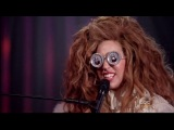 Lady Gaga and Elton John. Bennie and The Jets (The Muppets Holiday Spectacular)