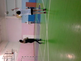 "Чемпионки мира по волейболу преподают уроки мастерства 9-ому ""в"""