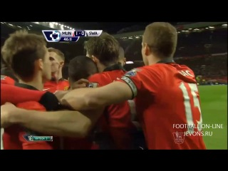 Манчестер Юнайтед 2:0 Суонси | обзор матча