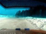 видео из салона машины