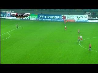 ПФК ЦСКА 2-1 Фк Амкар (Гол Ахмеда Мусы)
