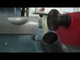 Полуавтоматический станок для формовки торцов труб, в т ч после гибки