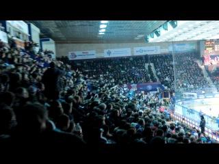 Хоккей играют - Сибирь и СКА 09.01.2014