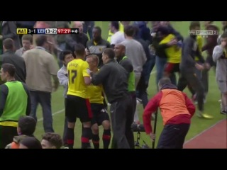 Watford 3 - 1 Leicester C. England - League Championship Play-Off