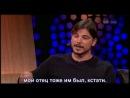 Джош Хартнетт в The Late Late Show 24 01 2014