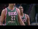 NBA 2013-2014 / Preseason / 21.10.2013 / Milwaukee Bucks @ Chicago Bulls 1/2