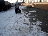 немного дрифта Владивосток 08.01.2014