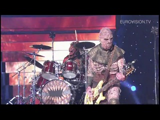 ▶ lordi - hard rock hallelujah (finland) 2006 eurovision song contest winner - youtube [720p]