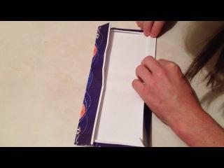 Пакет для Новогоднего подарка - своими руками за 5 минут ))