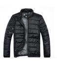оптом Мужское пальто чёрного цвета.