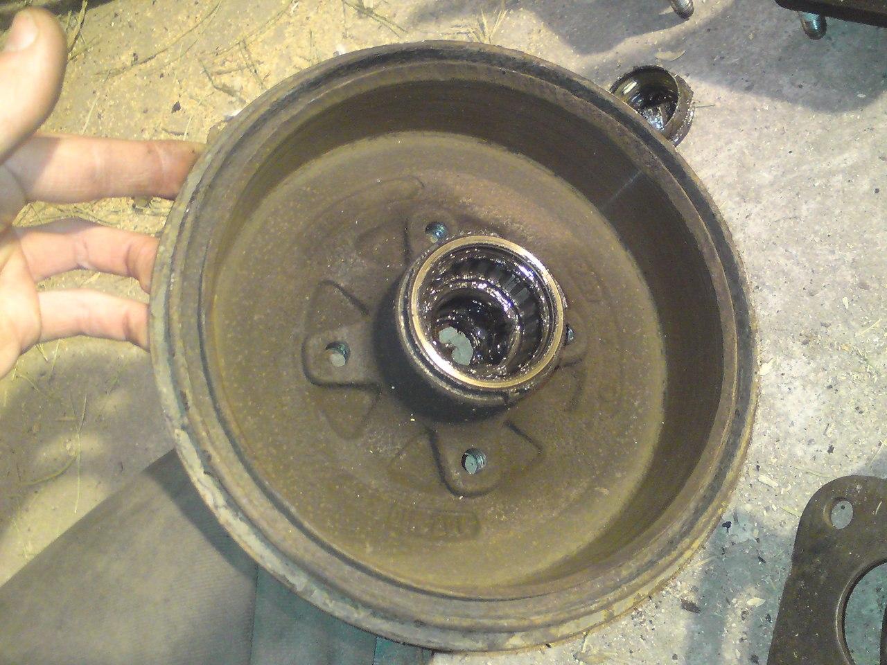 Как проточить тормозные барабаны своими руками 394