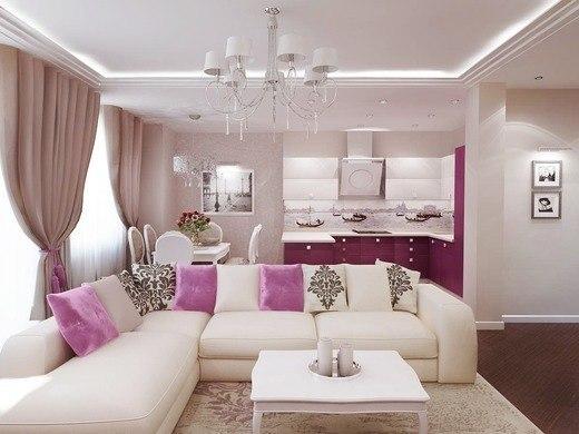 Стильная гостиная (1 фото)