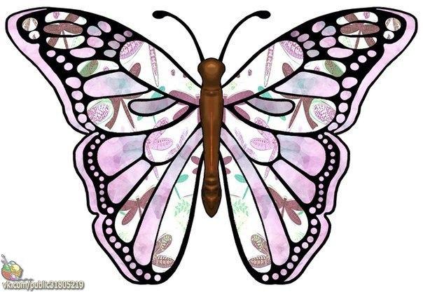 ✨ Прекрасные бабочки ============================== ✂ #hand_made #сделай_сам #мастер_классы