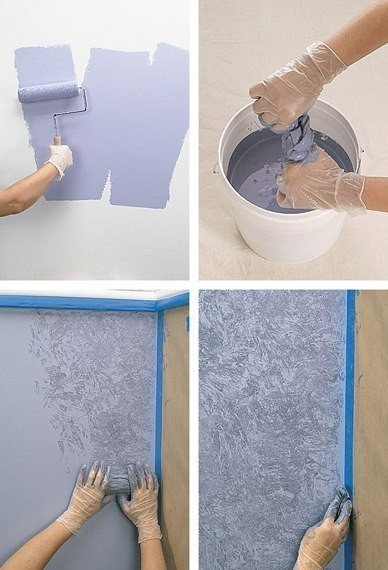 Ideas para el hogar t cnicas para aprender a pintar paredes - Ideas para paredes ...