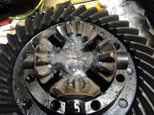Как сделать блокировку колес 162