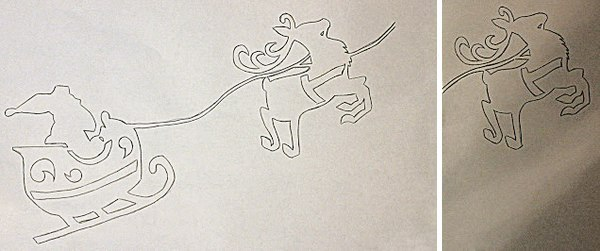 Трафареты из бумаги на окно торрент