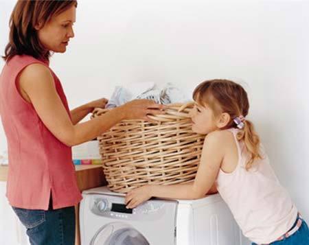 Шаг №5:  Порядок с детьми