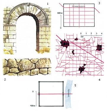 5 — Схема города-крепости в
