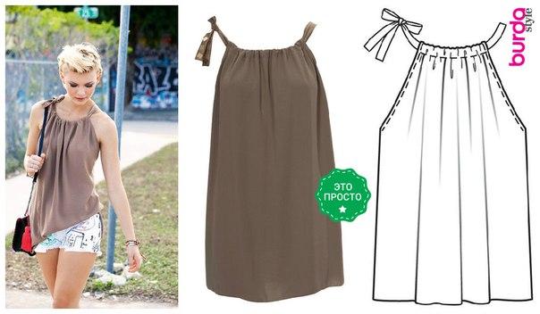 Как сшить из летнего платья юбку 119