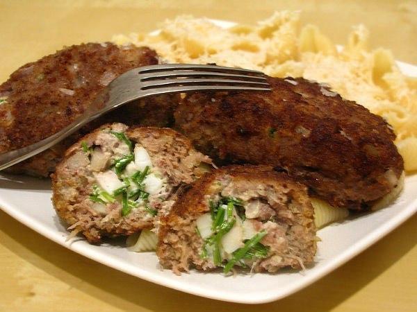 Мясные зразы с начинкой рецепт с фото