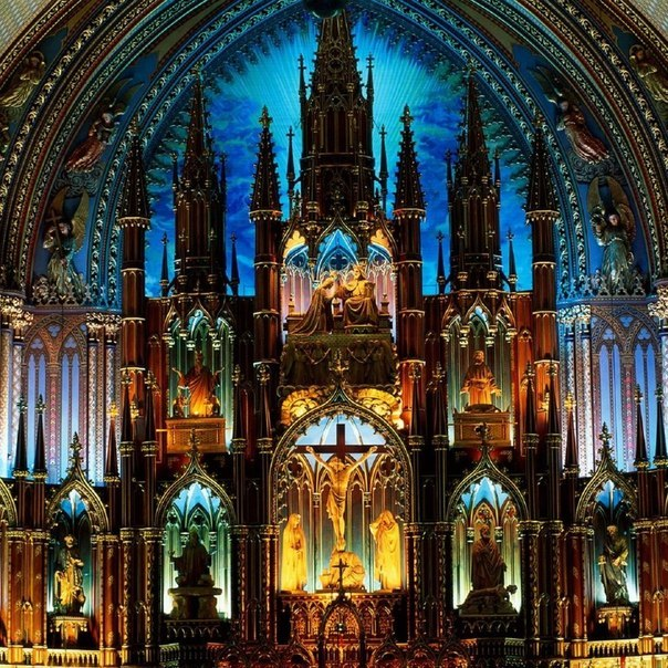 Собор Монреальской Богоматери, Канада