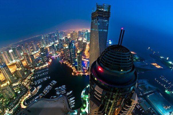 Ночной Дубай- это атмосфера абсолютно