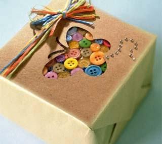 Оформление подарков своими рукам