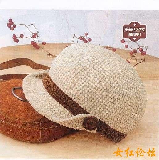 Вязаные шапочки крючком женщин со схемами