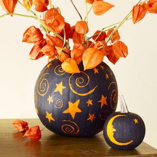 Декор тыквы
