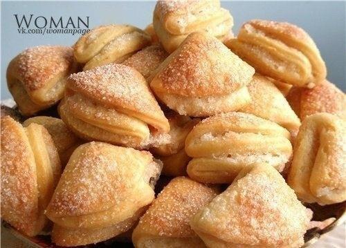 Вкусное и быстрое печенье с творогом
