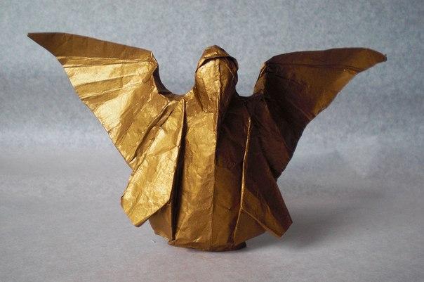 #оригами #ангел #схема