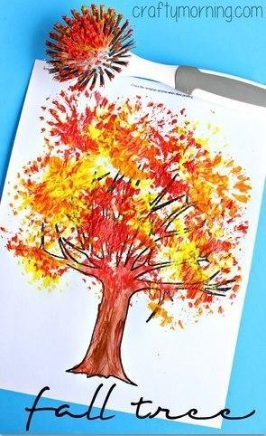 техника рисования для детей