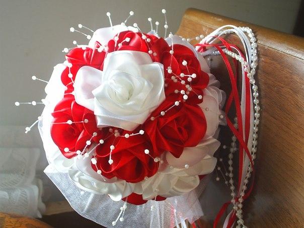Как сделать букет невесты своими руками дублер