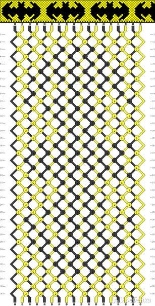 доплету прямым плетением