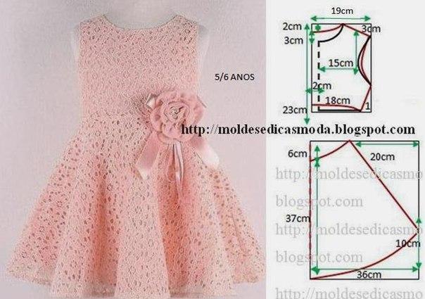 Шьем нарядные платья для девочек (7 фото) - картинка