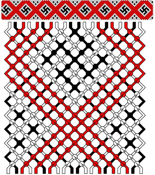 (Плетение фенечек, схемы и