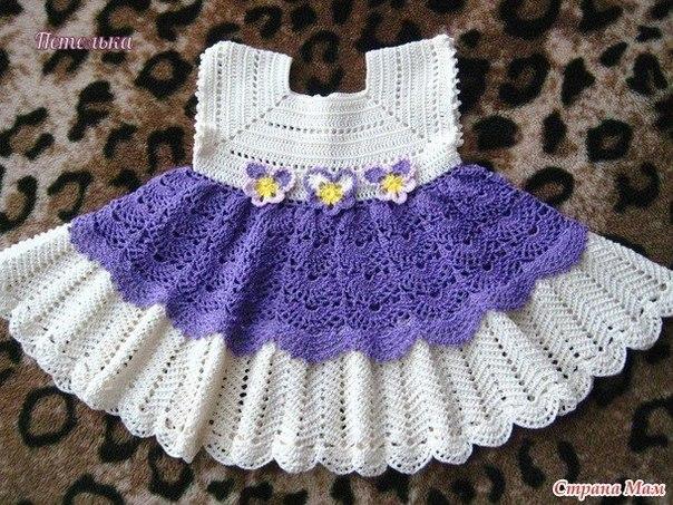 Платье для маленькой принцессы (9 фото) - картинка